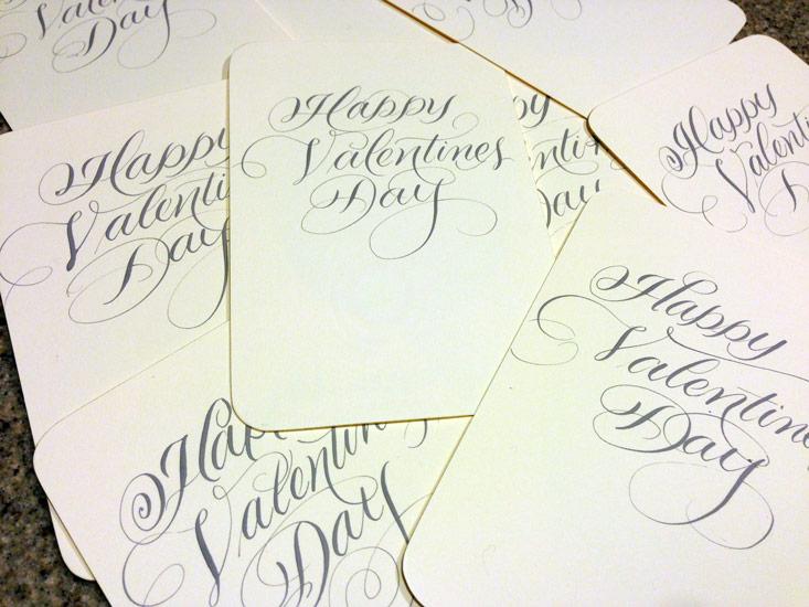Marlean's Flourished Script -Valentines-Messages