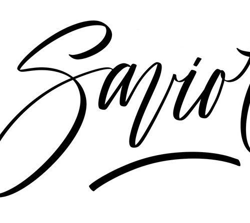 Savior - iPad lettering