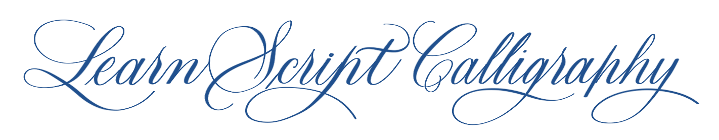 Learn Script Calligraphy