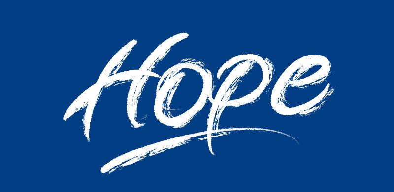 Hope - Brush lettering