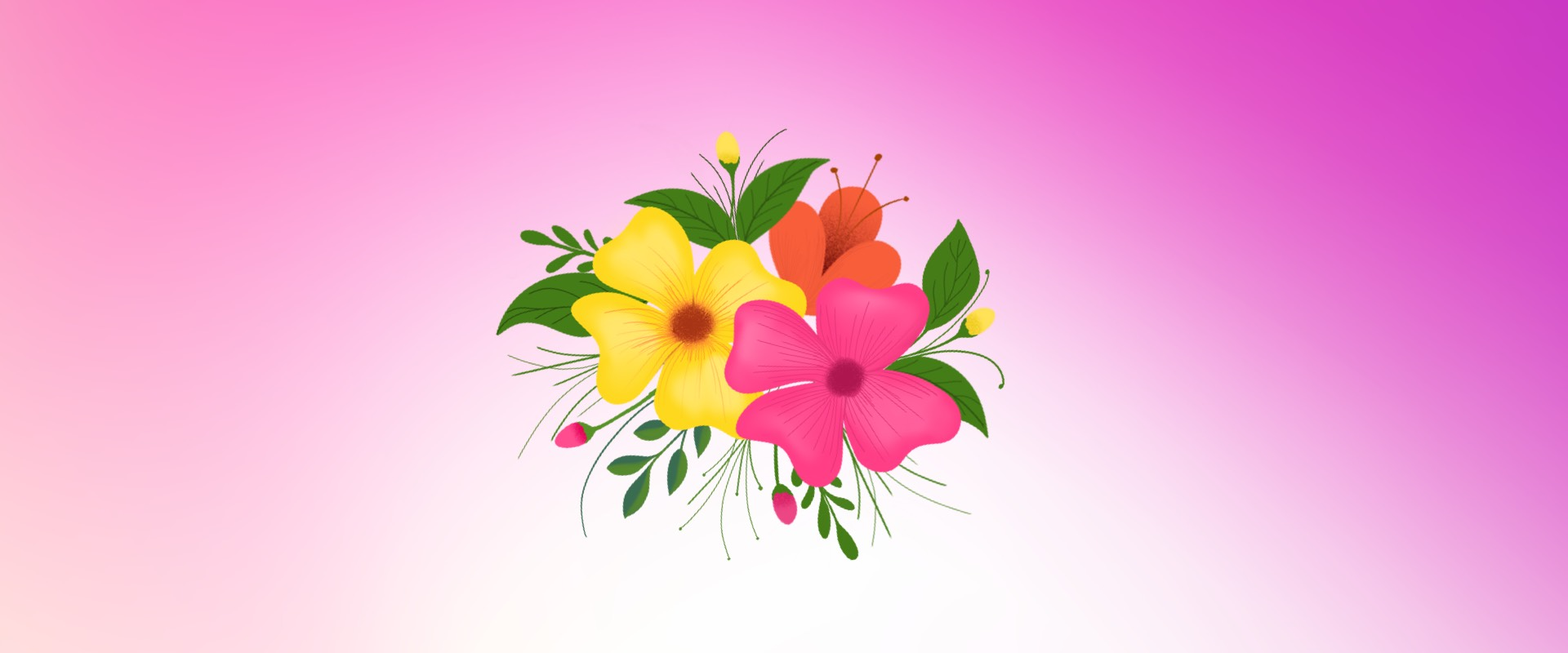Learning iPad Drawing – Florals