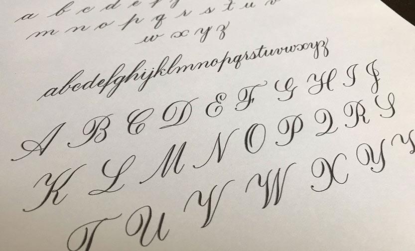 Classic script Calligraphy exemplar