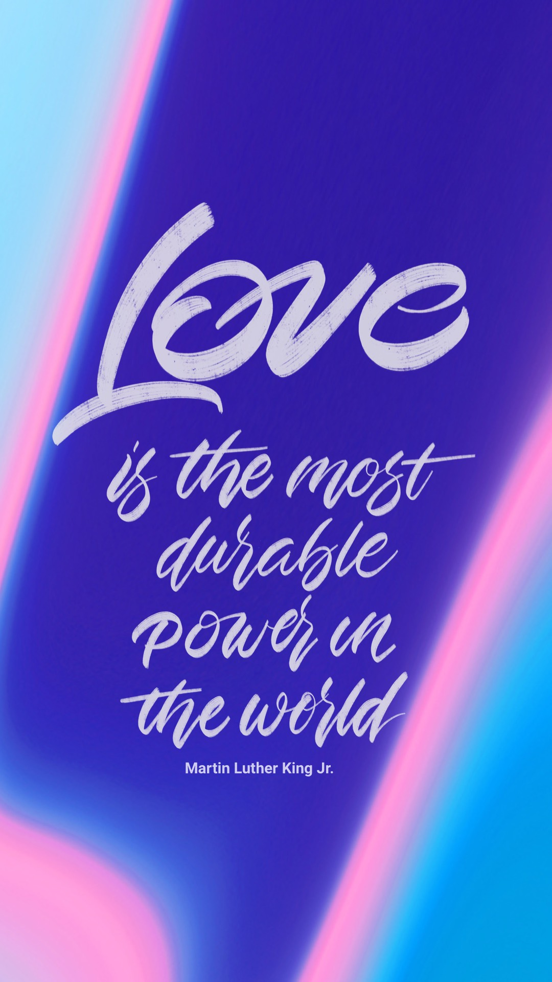 Love is the most durable power phone wallpaper
