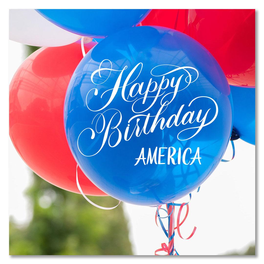 Happy Birthday America Overlay 3